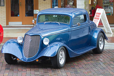 Cars Photograph - 1934 Ford Coupe 2 by J Darrell Hutto
