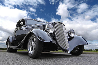 Photograph - 1934 Ford Coupe by Gill Billington
