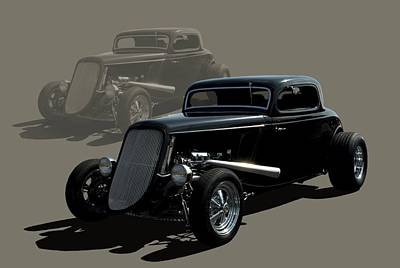Photograph - 1934 Ford Hot Rod Coupe by Tim McCullough