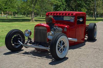 Photograph - 1934 Ford Pickup Truck Hot Rod by Tim McCullough