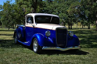 Photograph - 1934 Ford Pickup Truck by Tim McCullough