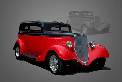 Photograph - 1934 Ford Sedan by Tim McCullough