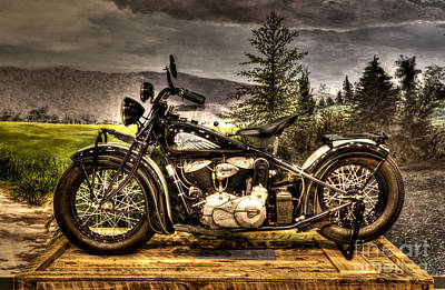 Photograph - 1934 Indian Chief by Paul W Faust -  Impressions of Light