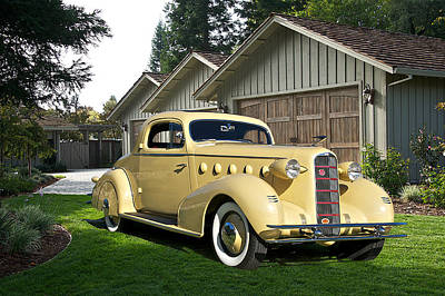 Photo Royalty Free Images - 1934 La Salle Rumble Seat Coupe Royalty-Free Image by Dave Koontz