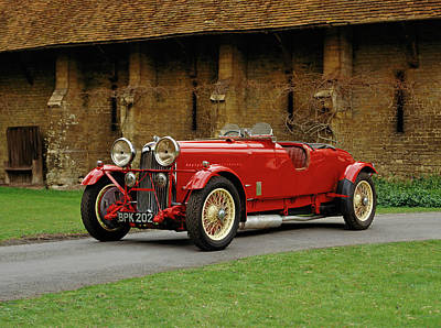 1934 Lagonda M45r 4.5 Litre Competition Print by Panoramic Images