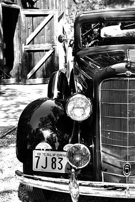 Photograph - 1934 Oldsmobile Touring Coupe by Holly Blunkall