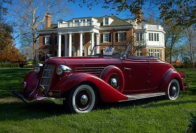Photograph - 1935 Auburn 851  by Tim McCullough