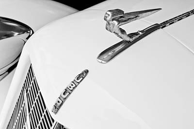 Photograph - 1935 Auburn Boattail Speedster Hood Ornament by Jill Reger