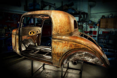 Photograph - 1935 Chevrolet Coupe by YoPedro