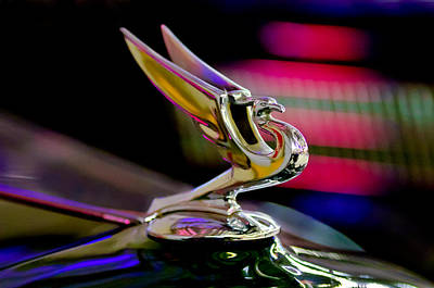 Photograph - 1935 Chevrolet Hood Ornament 2 by Jill Reger