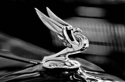 1935 Chevrolet Hood Ornament 3 Art Print by Jill Reger