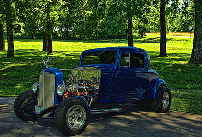 Photograph - 1935 Chevrolet Hot Rod Coupe by Tim McCullough