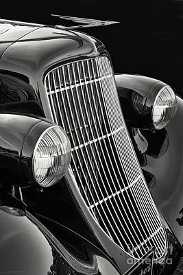 Photograph - 1935 Duesenberg Grille by Dennis Hedberg
