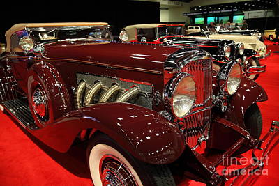Photograph - 1935 Duesenberg Sj Convertible Coupe Coachwork By Walker Lagrande 5d26773 by Wingsdomain Art and Photography