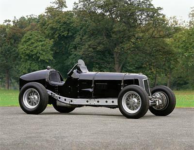 1935 Era D-type Racing Single Seater Art Print