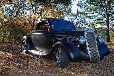 Photograph - 1935 Ford Coupe by Jeanne May