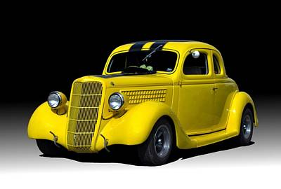 Photograph - 1935 Ford Coupe by Tim McCullough