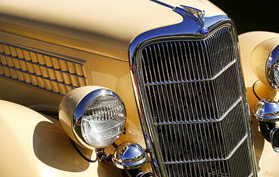 Photograph - 1935 Ford Deluxe Station Wagon by Gordon Dean II