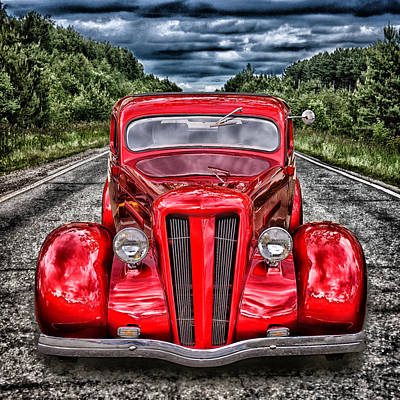 1935 Ford Window Coupe Art Print