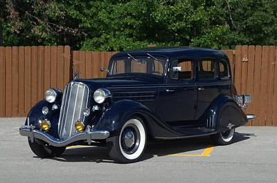 Photograph - 1935 Hudson 4 Door Sedan by Tim McCullough