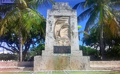 Photograph - 1935 Hurricane Monument 1 by Duane McCullough