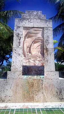Photograph - 1935 Hurricane Monument 2 by Duane McCullough