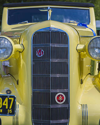 Photograph - 1935 Lasalle Model 30-50 Convertible Coup by Jack R Perry
