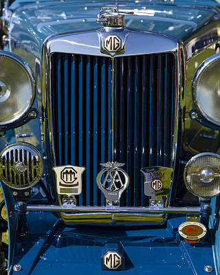 Photograph - 1935 Mg Type Nb Magnette by Jack R Perry