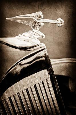Goddess Images Photograph - 1935 Packard Hood Ornament - Goddess Of Speed by Jill Reger