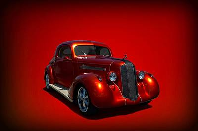 Photograph - 1935 Pontiac Custom Coupe Hot Rod by Tim McCullough