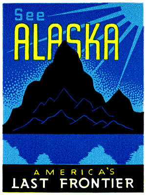 Painting - 1935 See Alaska Poster by Historic Image