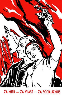 Painting - 1935 Socialist Poster by Historic Image
