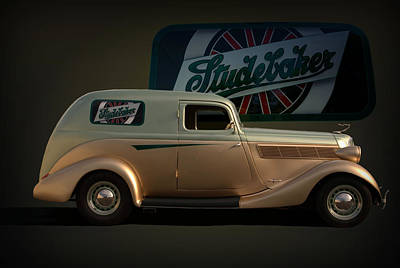 Photograph - 1935 Studebaker Sedan Delivery by TeeMack
