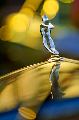 Caddy Photograph - 1936 Cadillac Hood Ornament by Jill Reger