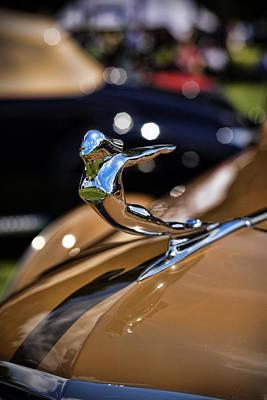Automotive Art Series Wall Art - Photograph - 1936 Cadillac Series 75 By Fleetwood by Gordon Dean II