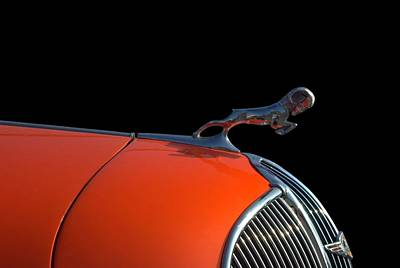 Photograph - 1936 Dodge Brothers Hood Ornament by Tim McCullough