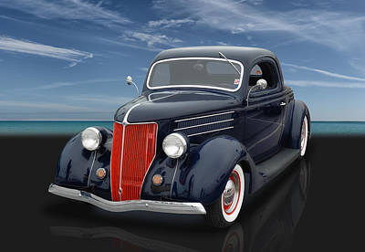 Photograph - 1936 Ford Coupe by Frank J Benz