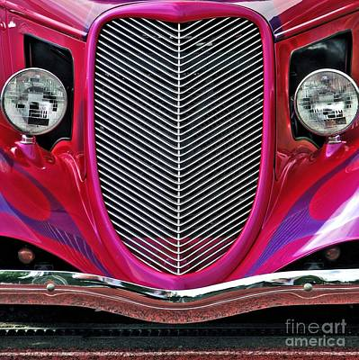 Photograph - 1936 Ford's Grill  by Chris Anderson