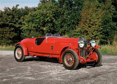 1936 Lagonda Lg45 Le Mans. 4.5 Litre, 6 Print by Panoramic Images