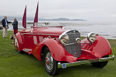 1936 Photograph - 1936 Mercedes-benz 540k Mayfair Special Roadster by Jill Reger