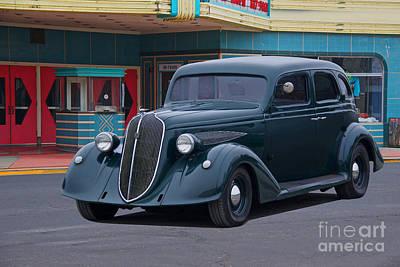 Clouds - 1936 Nash Ambassador Sedan by Dave Koontz