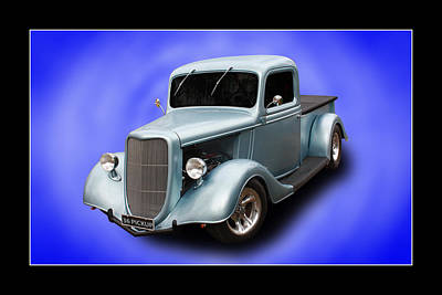 Print featuring the photograph 1936 Pickup by Keith Hawley