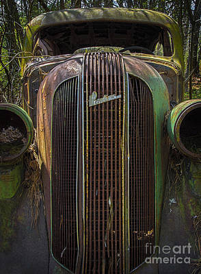 Photograph - 1936 Pontiac Head On by Ken Johnson
