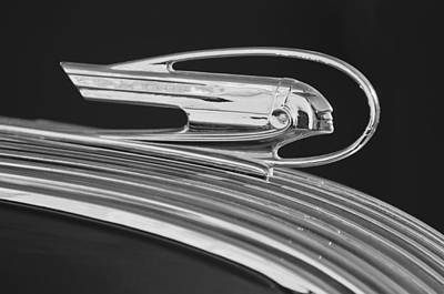 1936 Pontiac Hood Ornament 5 Art Print
