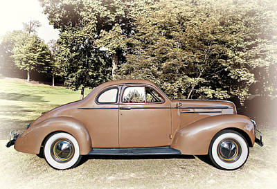 Transportation Photograph - 1936 Studebaker Dictator  by Marcia Colelli