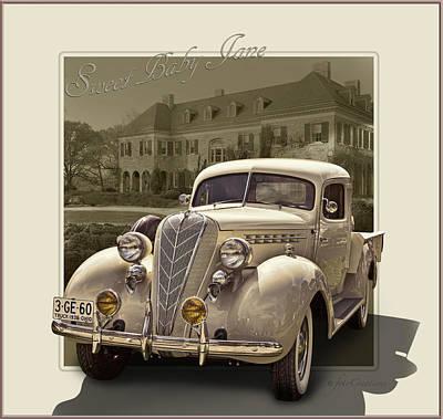 1936 Terraplane Express Cab Truck  Art Print