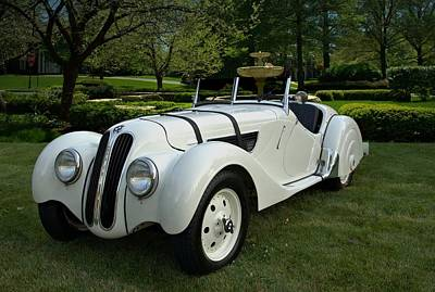 Photograph - 1937 Bmw 328 Roadster by Tim McCullough