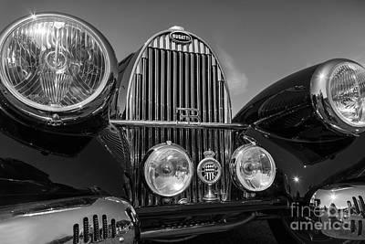 Roaring Red - 1937 Bugatti by Dennis Hedberg