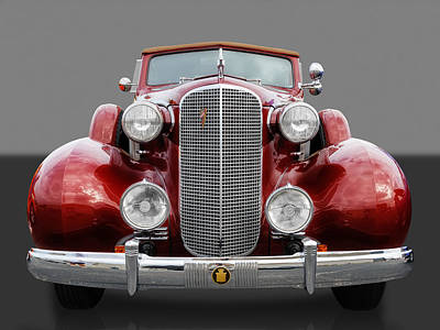 Photograph - 1937 Cadillac by Frank J Benz