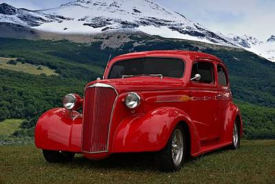 Photograph - 1937 Chevrolet Custom Sedan Hot Rod by Tim McCullough